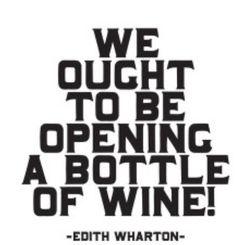 Edith Wharton quote #wine