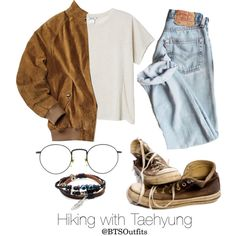 Hiking with Taehyung
