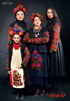 of traditional dress which moves fashion forward Folk Fashion, Ethnic Fashion, Traditional Fashion, Traditional Dresses, Folk Costume, Costumes, Mode Russe, Frida Kahlo Portraits, Ukrainian Dress