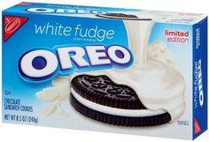 Nabisco, Oreo, White Fudge Covered Oreos, Limited Edition, 8.5oz Box (Pack of 4) - http://bestchocolateshop.com/nabisco-oreo-white-fudge-covered-oreos-limited-edition-8-5oz-box-pack-of-4/