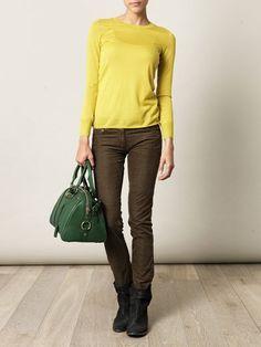 Iti skinny corduroy trousers | Isabel Marant Etoile