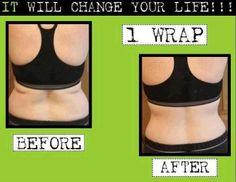 Get rid of back fat with wraps!  www.partnerwithaisha.com