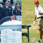 'Respect: you're doing it wrong' – Obama bucks tradition, skips funeral....golfer in chieft, can't be bothered, vacation time don't you know!!! The worst president EVER!