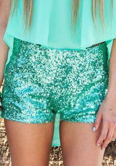 sparkly shorts<3
