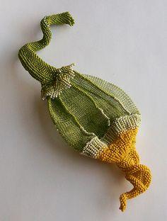 Indespiral - Gourd Pendant by Indespiral2 (Aleta Ford Baker), via Flickr