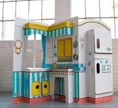 Pop and Play Kitchen Playhouse