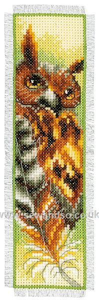 Shop online for Owl Bookmark Cross Stitch Kit at sewandso.co.uk. Browse our great range of cross stitch and needlecraft products, in stock, with great prices and fast delivery.