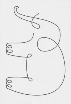 Ideas For Drawing Simple Elephant Tattoo Ideas Longarm Quilting, Free Motion Quilting, Machine Quilting, Simple Elephant Tattoo, Simple Elephant Drawing, Embroidery Patterns, Quilt Patterns, Embroidery Art, Baby Animal Drawings
