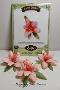 Selma's Stamping Corner and Floral Designs: Susan's Garden Lily Tutorial