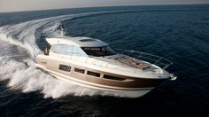 #YachtOfTheWeek This week we bring you the #prestige 500S. Take a look at this elegant and spacious #yacht, it is a great choice for those who prefer power over sails! #yachtlife