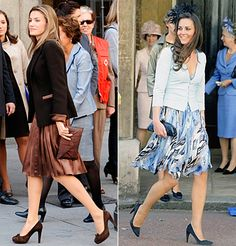 Kate Middleton's Spot-On Princess Style - Classic Separates from #InStyle