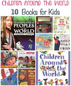 Introduce your children to children of different cultures with these Children Around the World books.