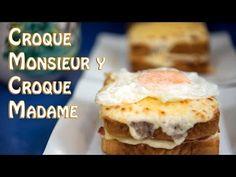 Croque Monsieur y Croque Madame - YouTube