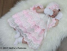 (4) Name: 'Crocheting : Lace Dress Crochet Pattern USA #100