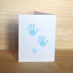 Carte de félicitation pour les naissances - Création Clemencedemalglaive #Félicitations #Naissance #Carte / #Greetingcards