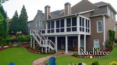 Shed Porches | Peachtree Decks & Porches