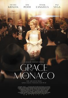 Grace of Monaco is a 2014 biographical drama film. The film stars Nicole Kidman in the titular role as Grace Kelly. It also features a supporting cast of Frank Langella, Parker Posey, Derek Jacobi and Milo Ventimiglia. Plot: The story of former Hollywood star Grace Kelly's crisis of marriage and identity, during a political dispute between Monaco's Prince Rainier III and France's Charles De Gaulle, and a looming French invasion of Monaco in the early 1960s.