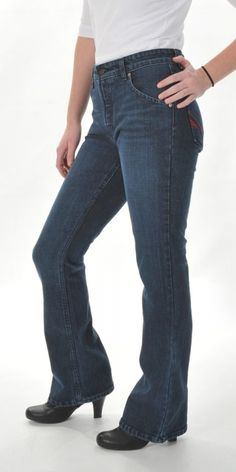 Ladies' Bootcut Jeans from www.allamericanclothing.com