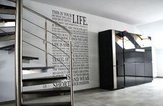Kuchnia i salon black&white
