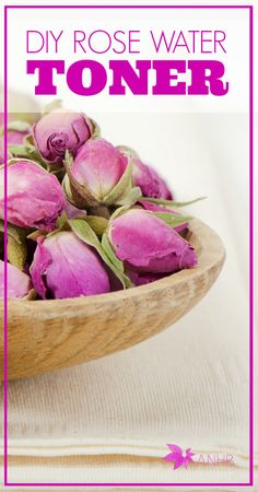 Rose water toner --- Dried rose buds, Distilled or filtered water, Empty spray bottle Diy Beauty, Beauty Hacks, Beauty Tips, Natural Healing, Natural Toner, Homemade Beauty Products, Belleza Natural, Diy Skin Care, Rose Water