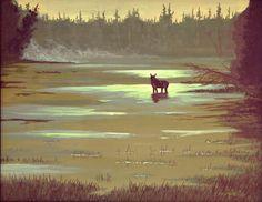 Morning Mist #Drawings #Art #Paintings #Light