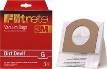 3M - Filtrete G Vacuum Bag for Most Dirt Devil Corded Hand Vacs
