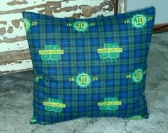 "John Deere 100% Cotton Flannel Plaid 15"" Pillowcase Covers. Makes a great gift :)"