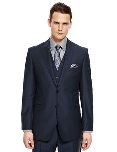 Buy Grey Birdseye Slim Fit Suit: Jacket online today at Next ...