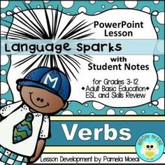 Instructional PPT with student notes in a PDF format for easy printing. Great for grades 3-12, ESL, and Homeschool.