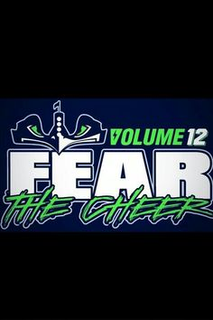 Volume 12! Seahawks Rule!