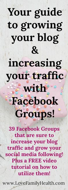 How you can use Facebook Groups to increase your blog traffic and grow your social media following!