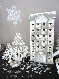 Advent Calendar   white and gray
