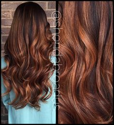 balayage for auburn hair Auburn Balayage, Balayage Hair, Ombre Hair, Hair Color Auburn, Brown Auburn Hair, Dark Auburn, Chesnut Brown Hair, Medium Auburn Hair, Copper Brown Hair