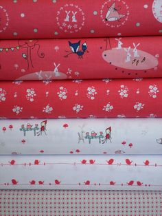 Natalie Lymer, Enchant, Pink in FAT QUARTERS 6 Total