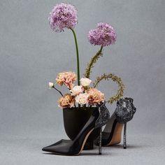 Black Luxury, Glass Vase, Home Decor, Instagram, Heels, Heel, Decoration Home, Room Decor, Pumps Heels