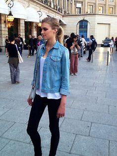 Denim Jacket Model | Outdoor Jacket