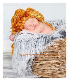 Sweet baby lion hat