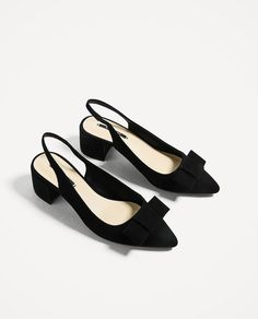 Image 3 of HIGH HEEL BACKLESS SHOES from Zara