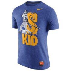 Ken Griffey Jr. Seattle Mariners Nike Cooperstown Poster Player T-Shirt - Royal Blue