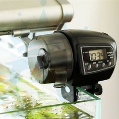 Moisture Proof Automatic Fish Feeder Digital Aquarium Food Dispenser LCD Auto #MoistureProofChina