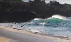 Waimea Bay Waimea Bay, Beaches, Hawaii, Surfing, Waves, Island, Sea, Outdoor, Style