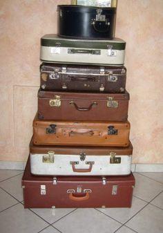 Set 7 valigie in cartone