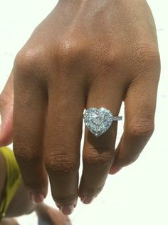 heart shaped diamond ive never posted a re pic.....but come on, I need this!