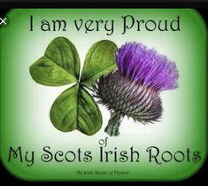 I am very proud of my Scots Irish roots. Celtic Pride, Irish Celtic, Irish Pride, Scottish Thistle Tattoo, Irish Tattoos, Celtic Tattoos, Irish Quotes, Scottish Quotes, Scotland History