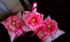 DIY Ring Bearer Pillows and Flower Girl Basket