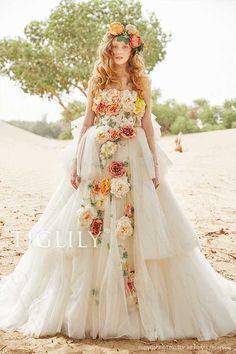 【ローレン Lauren】ウエディングドレス_ホワイトドレス(w353)