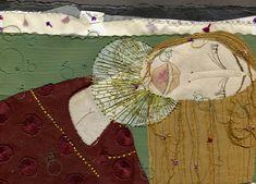 Valeria Gallo, seleccionada en el Cuarto Catálogo Iberoamericano de Ilustración | Valeria Gallo has been selected on the Fourth Iberoamerican Catalog of Illustration. Congratulations! Embroidery on paper.