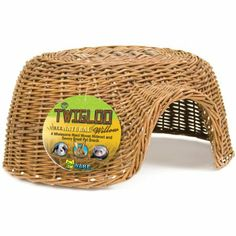 Amazon.com: Ware Hand Woven Willow Twigloo Small Pet Hideout, Large: Pet Supplies