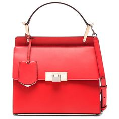 Balenciaga Le Dix Small Zip Cartable AJ ($1,935) ❤ liked on Polyvore featuring bags, handbags, hand bags, red purse, balenciaga purse, red bag and zipper flap purse