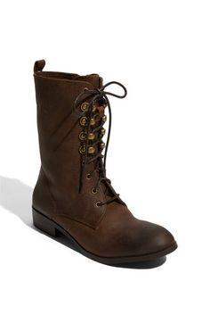 cheap for discount bbae4 baa08 Lace up utility style Zapatillas, Cuero Desgastado, Jeffrey Campbell, Moda  De Cuero,